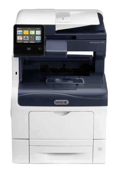 Цветное МФУ XEROX VersaLink C405N (A4, 35 ppm/ 35ppm, max 80K pages per month, 2GB memory, PCL 5/ 6, PS3, DADF, USB, Eth)