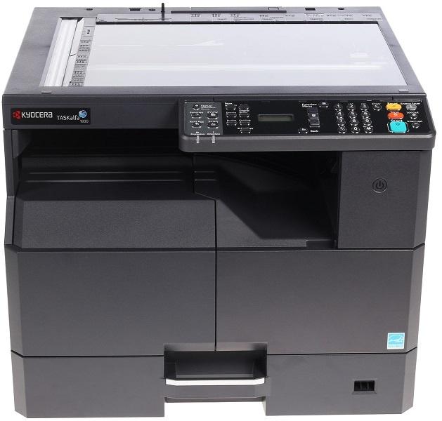 Kyocera TASKalfa 1801 МФУ (P/ C/ S/ F, A3, 18/ 8 ppm A4/ A3, 600 dpi, 256 Mb, USB 2.0, б/ крышки, стартовый тонер 3000 стр.)+(Ethernet покупается отдельно арт. IB-33)
