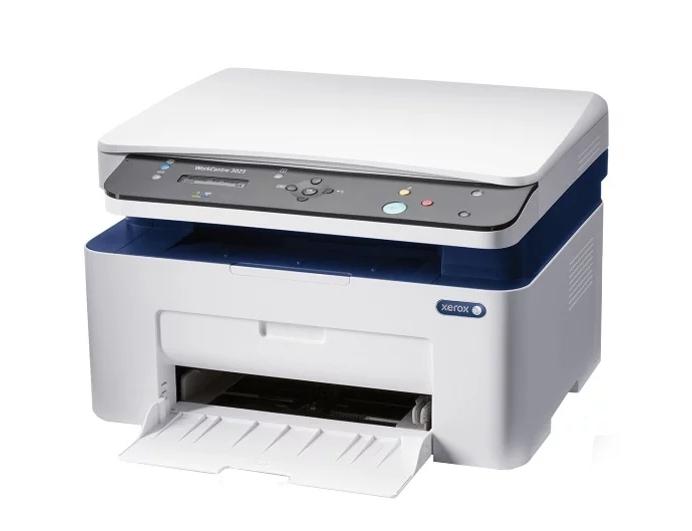 МФУ XEROX WC 3025BI (A4, Laser, P/ C/ S, 20ppm, max 15K pages per month, 128MB, GDI, USB, Wi-Fi)