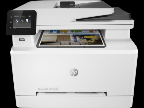 HP Color LaserJet Pro MFP M281fdn (p/ c/ s/ f, 600x600dpi, ImageREt3600, 21(21) ppm, 256Mb, ADF35 sheets, 2 trays250+1, PS, USB/ LAN/ ext.USB, 1y warr, Cartridges 1400 b & 700cmy pages in box, repl. B3Q10A)
