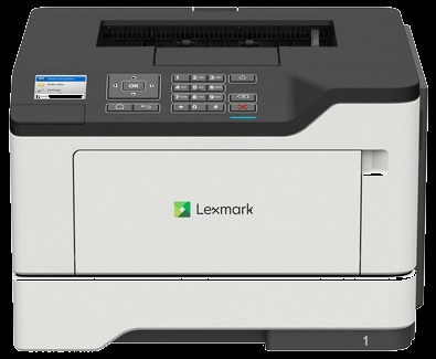 Lexmark Single function Laser MS521dn ( A4, 44 ppm, 512 Mb, 1 tray 150, USB,  Duplex, Cartridge 5000 pages in box, 1y warr. )