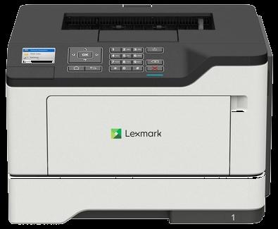 Lexmark Single function Mono Laser B2546dw (A4, 44 ppm, 512 Mb, 1 tray 150, Duplex, USB, Wi-Fi,  Cartridge 3000 pages in box, 1+3y warr.)