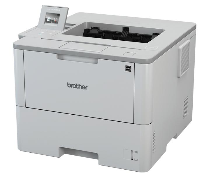 Brother HL-L6300DW, A4, 46 стр/ мин, 256Мб, Duplex, GigaLAN, WiFi, лоток 520л, NFC, USB, старт.тонер 8000 стр.