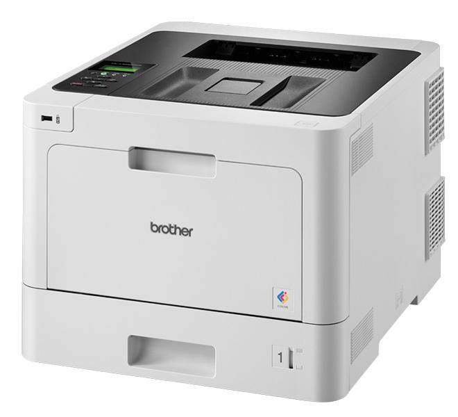 Brother HL-L8260CDW, A4, 31 стр/ мин, 256Мб, Duplex, GigaLAN, WiFi, USB (старт.тонери 3000/ 1800стр)