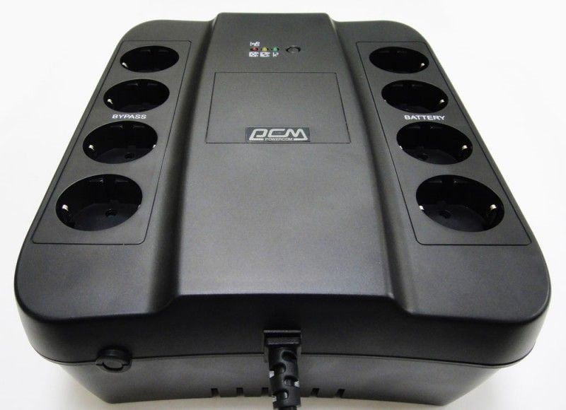 ИБП Powercom Back-UPS SPIDER, Line-Interactive, 1000VA/ 550W, Tower