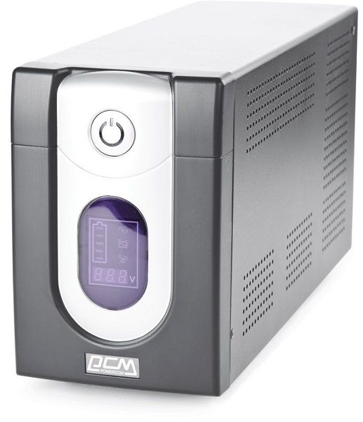 Powercom Back-UPS IMPERIAL, Line-Interactive, 1200VA/ 720W, Tower, IEC, LCD, USB