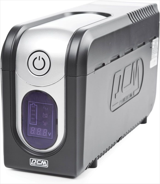 Powercom Back-UPS IMPERIAL, Line-Interactive, 825VA/ 495W, Tower, IEC, LCD, USB <img style='position: relative;' src='/image/only_to_order_edit.gif' alt='На заказ' title='На заказ' />