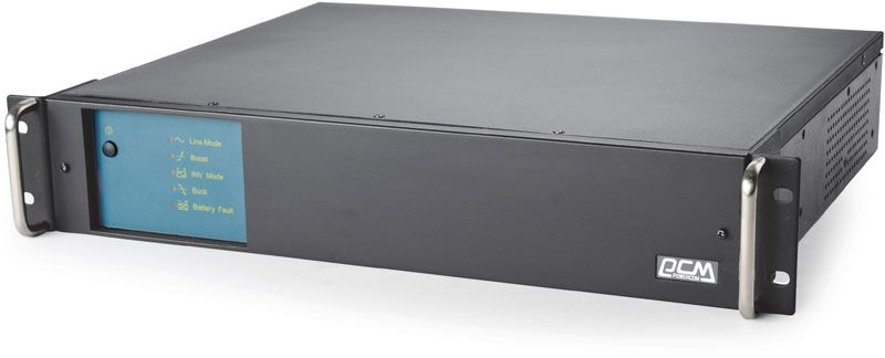 Powercom Smart-UPS King Pro RM, Line-Interactive, 1000VA/ 600W, Rack, IEC, USB