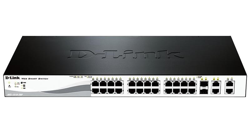 Коммутатор D-Link DES-1210-28P/ C2A