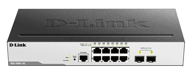 Коммутатор D-Link DGS-3000-10L/ B1A