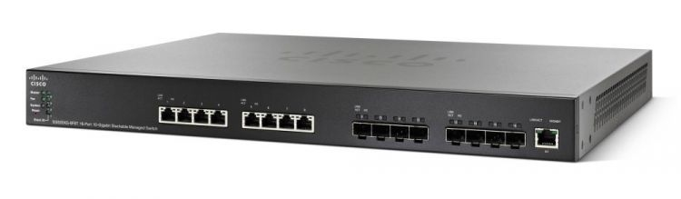 Cisco SG550XG-8F8T 16-Port 10G Stackable Managed Switch<img style='position: relative;' src='/image/only_to_order_edit.gif' alt='На заказ' title='На заказ' />