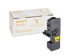Kyocera Тонер-картридж TK-5220Y 1 200 стр. Yellow для P5021cdn /  P5021cdw, M5521cdn / M5521cdw