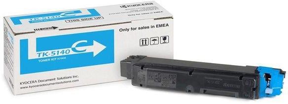 Тонер картридж Kyocera TK-5140С для ECOSYS P6130cdn/ M6x30cdn (5000 стр)