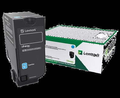 Lexmark CX725 Cyan High Yield Return Program Toner Cartridge 16, 000 pages CX725