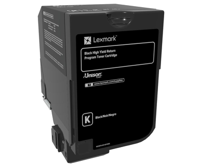 Lexmark CX725 Black High Yield Return Program Toner Cartridge 25, 000 pages CX725 <img style='position: relative;' src='/image/only_to_order_edit.gif' alt='На заказ' title='На заказ' />