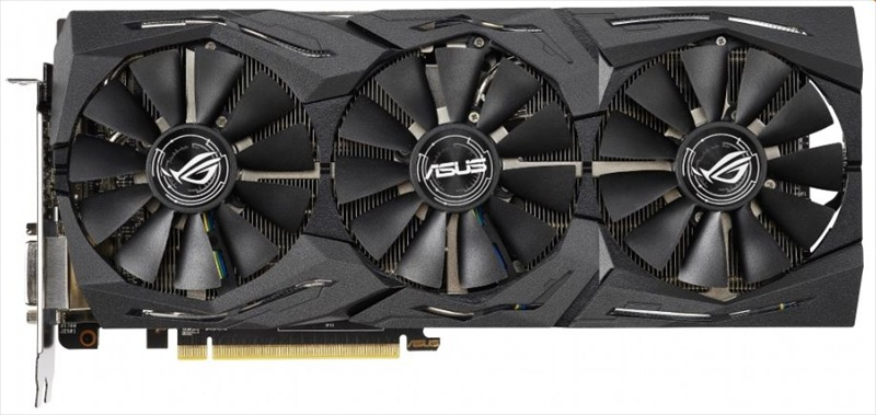 ASUS ROG-STRIX-RX590-8G-GAMING / / RX590, DVI*1, HDMI*2, DP*2, 8G, D5 ; 90YV0CF0-M0NA00 <img style='position: relative;' src='/image/only_to_order_edit.gif' alt='На заказ' title='На заказ' />