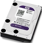 Western Digital HDD SATA-III 4000Gb Purple WD40PURZ