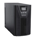ИБП IRBIS UPS Online 1000VA/ 900W, LCD, 2xSchuko outlets, USB, RS232, SNMP Slot, Tower, 2 year warranty