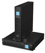 ИБП IRBIS UPS Online 1000VA/ 900W, LCD,  6xC13 outlets, USB, RS232, SNMP Slot, Rack mount (2U) / Tower, 2 year warranty