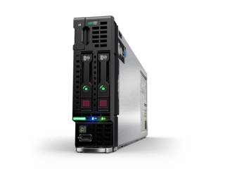 Сервер HP ProLiant BL460c Gen10