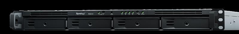 Система хранения Synology (Rack 1U) RS818RP+