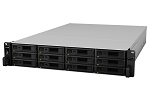 Synology Expansion Unit (Rack 2U) for RS18017xs+ up to 12hot plug HDDs SATA, SAS, SSD(3, 5' or 2, 5')/ 2xPS incl SAS Cbl