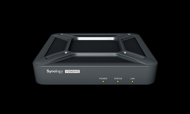 Synology VisualStation, 1xHDMI 4k and 1xHDMI 1080p, 1x USB 3.0, 2x USB2.0, Gigabit LAN x1, up to 96 channels of real-time IP camera streams/ 3YW