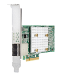 Контроллер HPE Smart Array E208e-p SR Gen10/ No Cache/ 12G/ 2 ext. mini-SAS/ PCI-E 3.0x8(HP&LP bracket)/ RAID 0, 1, 5, 10