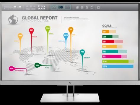 Монитор HP EliteDisplay E273q LED 27