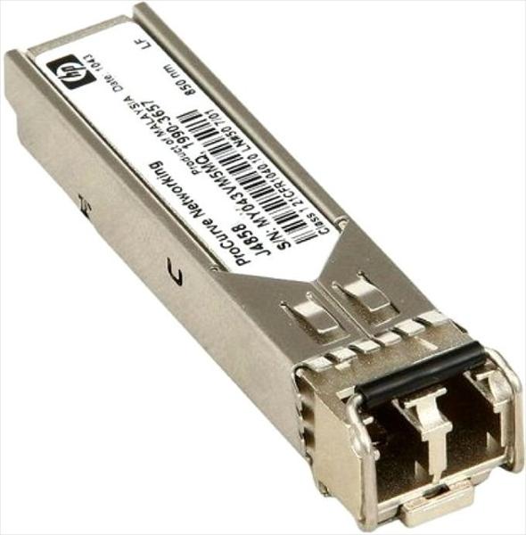 Трансивер HPE Aruba 1G SFP LC SX 500m MMF XCVR