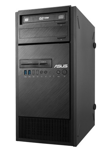 ASUS ESC300 G4 / / Tower, ASUS E3-PRO V5, s1151 with cpu E3-1220 V6, 64GB max, 3HDD int, 1HDD int 2, 5
