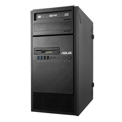 ASUS ESC500 G4 / / Tower, ASUS P10S WS, s1151 with cpu E3-1245 V6, 64GB max, 3HDD int, 1HDD int 2, 5