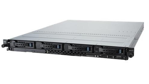 ASUS RS300-E10-PS4 / / 1U, ASUS P11C-C/ 4L, s1151, 64GB max,  4HDD Hot-swap,  2 x SSD Bays, 2 x M.2, DVR, 400W, CPU FAN ; 90SF00D1-M00020