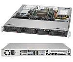 Supermicro SuperServer 1U 5019S-MN4 no CPU(1) E3-1200v5/ 6thGenCorei3/ no memory(4)/ on board RAID 0/ 1/ 5/ 10/ no HDD(4)LFF/ 4xGE/ 1xPCIEx8, 1xM.2 connector/ 1noRx350W