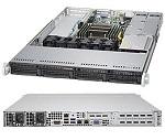 Supermicro SuperServer 1U 5018R-WR no CPU(1) E5-2600/ 1600v3/ v4 no memory(8)/ on board C612 RAID 0/ 1/ 5/ 10/ no HDD(4)LFF/ 2xGE/ 2xFH, 1xLP/ 2x500W Gold/ Backplane 4xSATA/ SAS