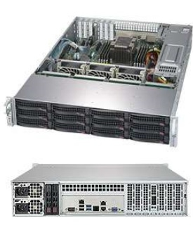 Supermicro SuperStorage 2U Server 5029P-E1CTR12L noCPU(1)Scalable/ TDP 70-205W/ no DIMM(8)/ 3008RAID HDD(12)LFF + opt. 2SFF/ 2x10Gbe/ 4xLP/ 2x800W