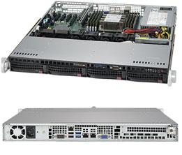 Supermicro SuperServer 1U 5019P-MT noCPU(1)Scalable/ TDP 70-205W/ no DIMM(8)/ SATARAID HDD(4)LFF/ 2x10GbE/ 1xFH, M2/ 1x350W