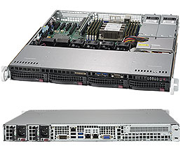 Supermicro SuperServer 1U 5019P-MTR noCPU(1)Scalable/ TDP 70-205W/ no DIMM(8)/ SATARAID HDD(4)LFF/ 2x10GbE/ 1xFH, M2/ 2x400W <img style='position: relative;' src='/image/only_to_order_edit.gif' alt='На заказ' title='На заказ' />