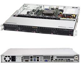 Supermicro SuperServer 1U 5019P-M noCPU(1)Scalable/ TDP 70-165W/ no DIMM(6)/ SATARAID HDD(4)LFF/ 2xGbE/ 1xFH, M2/ 1x350W