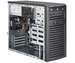Supermicro SuperServer Mid-Tower 5039D-i CPU(1) E3-1200v5/ noHS/ no memory(4)/ on board RAID 0/ 1/ 5/ 10/ internalHDD(4)LFF/ 2xGE/ 3xFH/ 1x300W Gold/ no Backplane