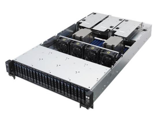 ASUS RS720A-E9-RS24-E / / 2U, ASUS KNPP-D32,  2 x Socket SP3 AMD Epyc 7000 Series, 32GB max, 24HDD 2, 5