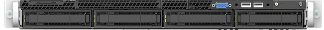 Intel Server System WOLF PASS 1U R1304WFTYS 952625 2xXeonScalable(max165W)/ DDR4 ECC RDIMM x24/ 4x3, 5