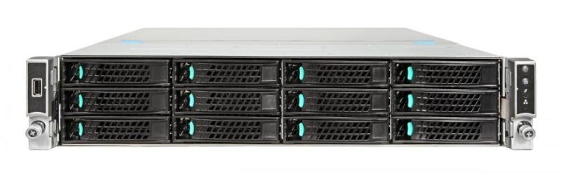 Intel Server System WOLF PASS 2U R2312WFTZS 975892 2xXeonScalable(max140W)/ DDR4 ECC RDIMM x24/ 12x3, 5