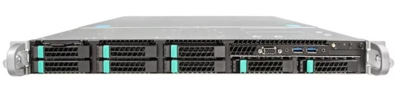 Intel Server System WOLF PASS 1U R1208WFTYS 952627 2xXeonScalable(max165W)/ DDR4 ECC RDIMM x24/ 8x2, 5