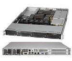 Supermicro SuperServer 1U 6018R-WTRT no CPU(2) E5-2600v3/ v4 no memory(16)/ on board C612 RAID 0/ 1/ 5/ 10/ no HDD(4)LFF/ 2x10GE/ 2xFHHL, 1xHBA/ 2x700W Platinum/ Backplane 4xSATA/ SAS