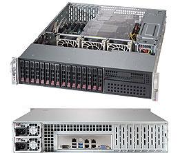 Supermicro SuperServer 2U 2028R-C1R4+ no CPU(2) E5-2600v3/ v4 no memory(24)/ on board C612 RAID 0/ 1/ 5/ 10/ LSI3108SAS3/ noHDD(16)SFF(8xSATA3, 8xSAS3)/ 4xGE/ 6xLP/ 2x920W/ Backplane