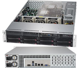 Supermicro SuperServer 2U 6029P-TRT noCPU(2)Scalable/ TDP 70-205W/ no DIMM(16)/ SATARAID HDD(8)LFF/ 2x10GbE/ 6xLP, M2/ 2x1000W