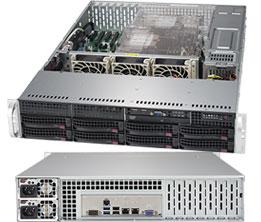 Supermicro SuperServer 2U 6029P-TR noCPU(2)Scalable/ TDP 70-205W/ no DIMM(16)/ SATARAID HDD(8)LFF/ 2xGbE/ 6xLP, M2/ 2x1000W