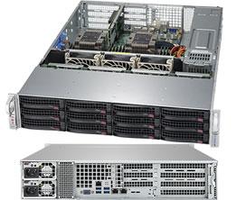 Supermicro SuperServer 2U 6029P-WTRT noCPU(2)Scalable/ TDP 70-205W/ no DIMM(12)/ SATARAID HDD(12)LFF/ 2x10GbE/ 3xFH, 2xLP, M2/ 2x1200W