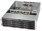 Supermicro SuperChassis 3U 836BE1C-R1K03B/ no HDD(16)LFF/ no HDD(2)SFF(optional)/ 7xFH/ 2x1000W Platinum(13.68